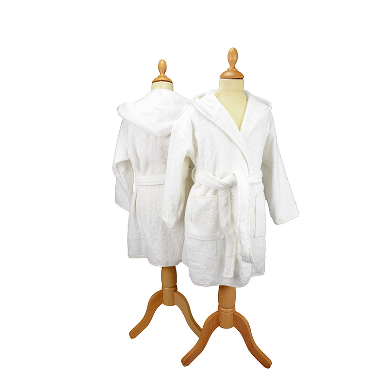Boyzz & Girlzz™ hooded bathrobe