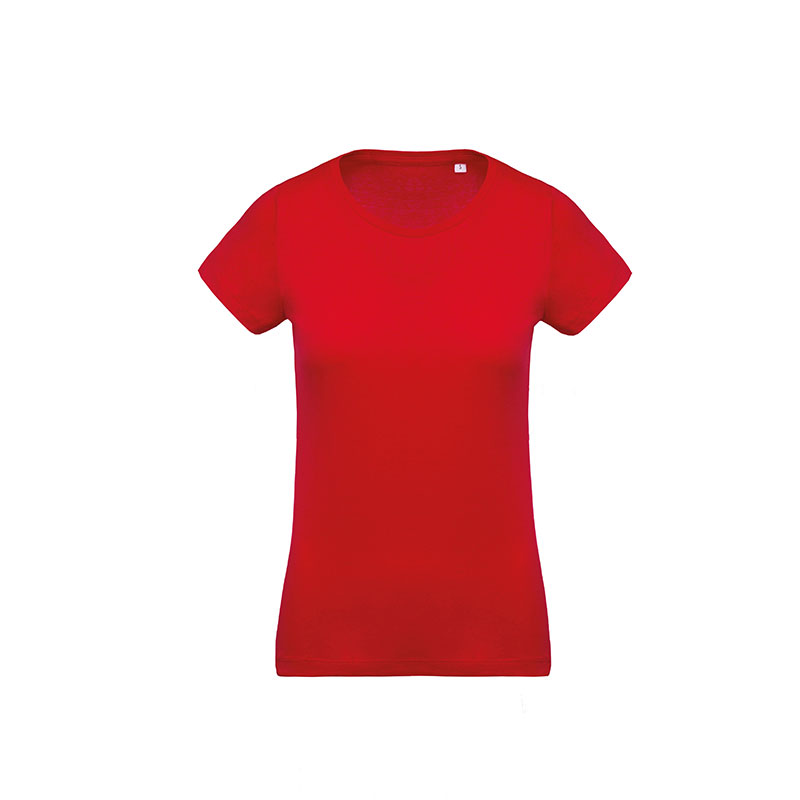 Women's organic cotton crew neck t-shirt