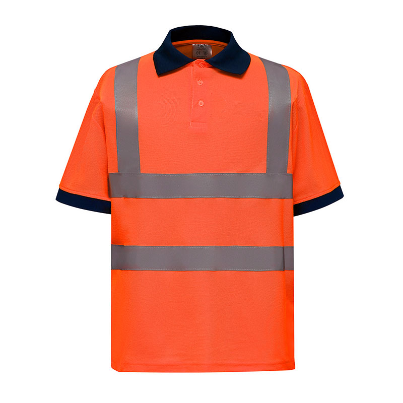 Hi-vis short sleeve polo (HVJ210)