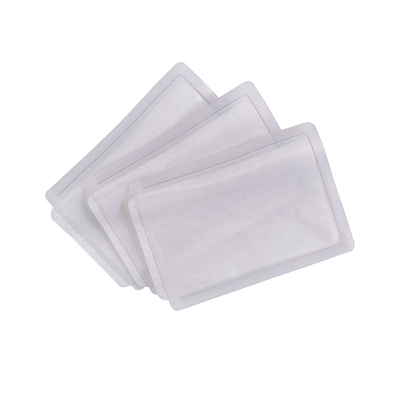 Heat-apply ID pockets - large (Packs of 50)