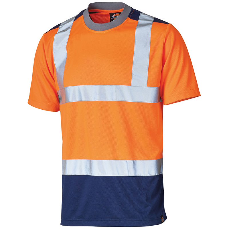 High-visibility two-tone t-shirt (SA22081)