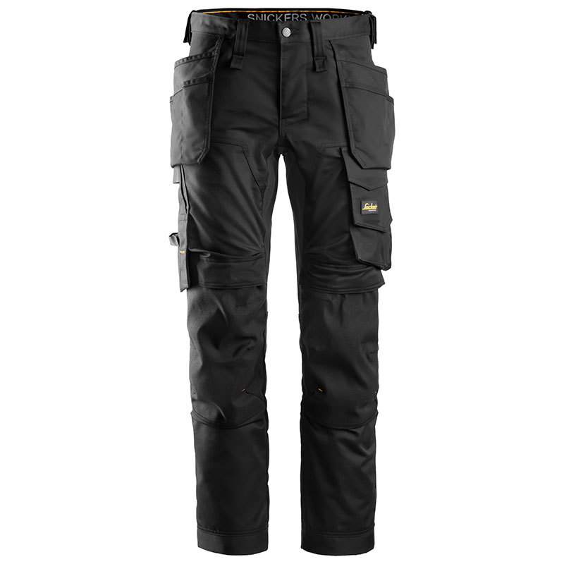 All round Work stretch trousers holster pockets