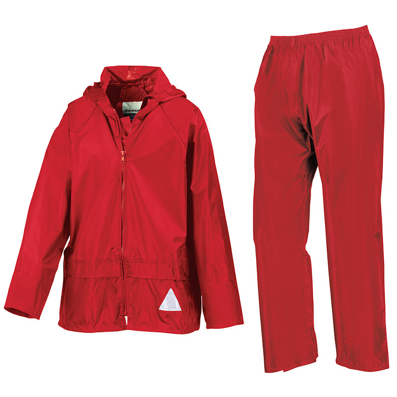 Junior waterproof jacket and trouser set