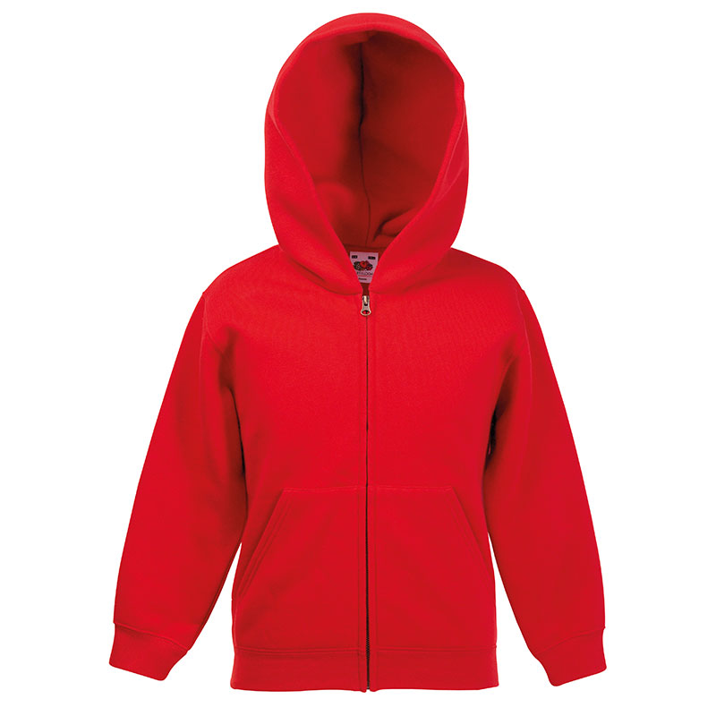 Classic 80/20 kids hooded sweatshirt jacket