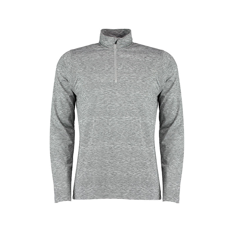 Hyper mid-layer ¼ zip Rhino skin performance top