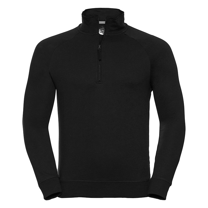 HD ¼ zip sweatshirt