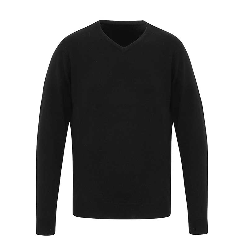 'Essential' acrylic v-neck sweater