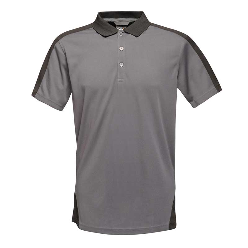 Contrast wicking polo