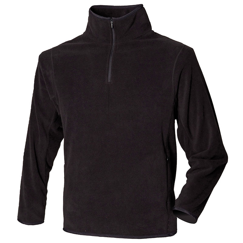 ¼-zip lightweight inner fleece