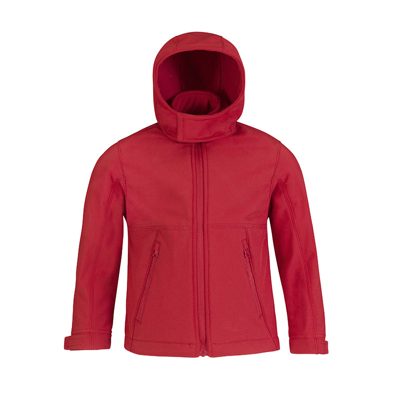 B&C Hooded softshell / kids