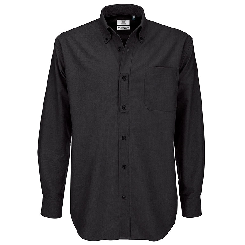 B&C Oxford long sleeve / men