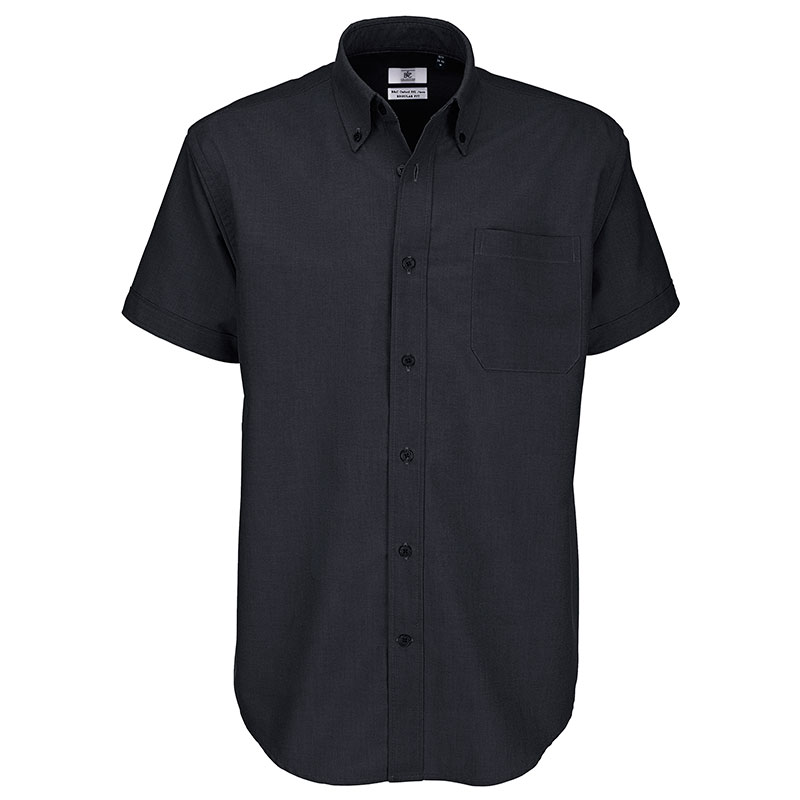 B&C Oxford short sleeve / men
