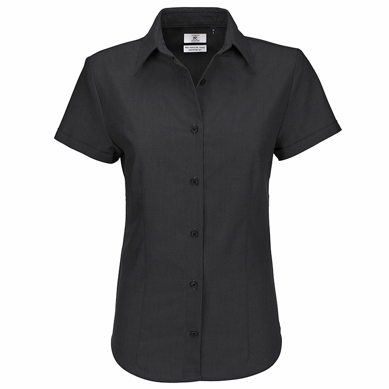 B&C Oxford short sleeve / women