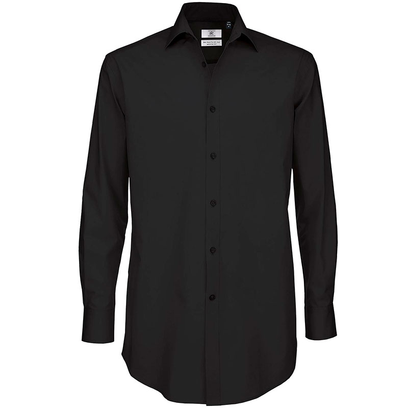 B&C Black tie LSL / men