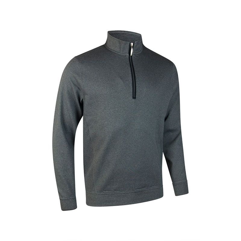 g.Artemis zip neck long sleeve fleece (MF7474)