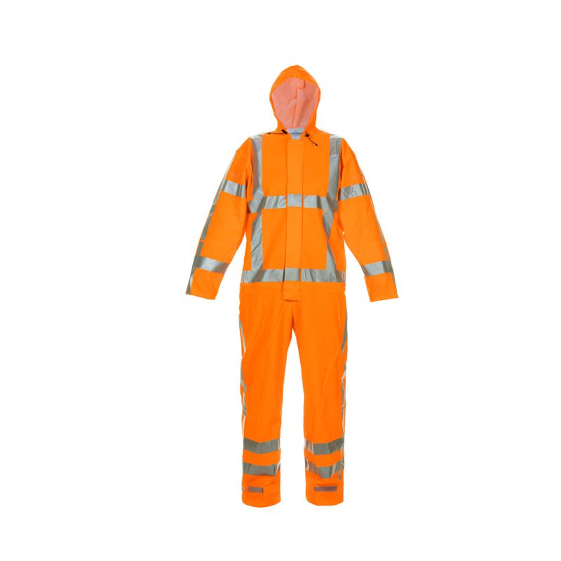 NORG MULTI HYDROSOFT FR AS HI VIS W/PROOF COVERALL