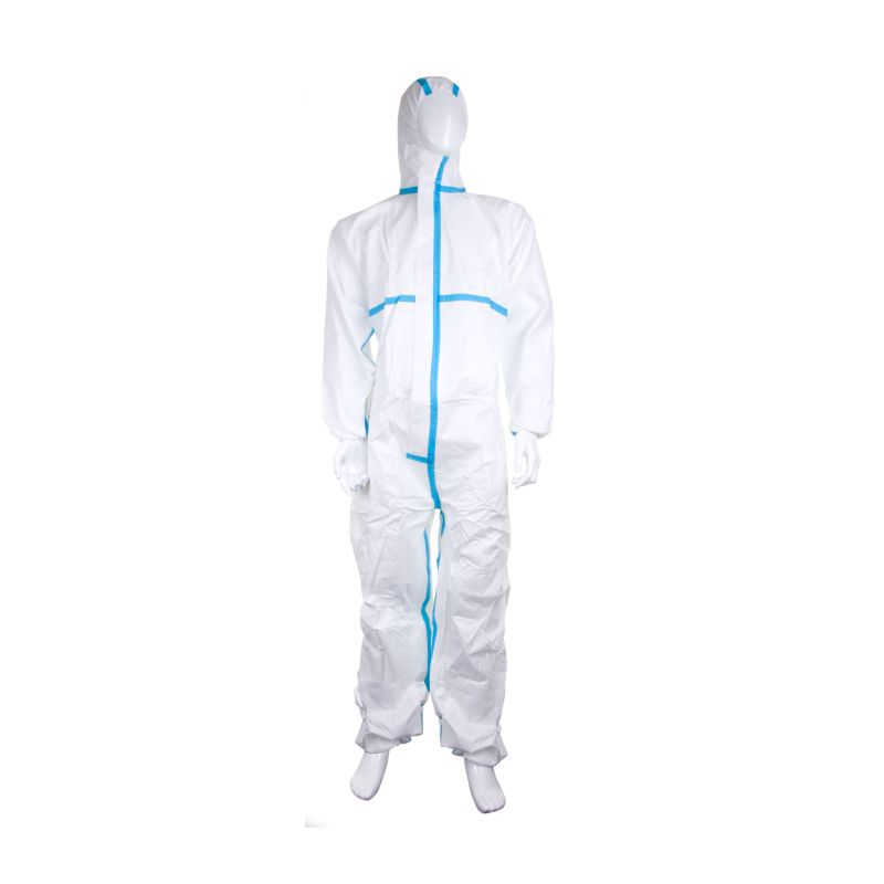 DISPOSABLE COVERALL MICROPOROUS TYPE 4/5/6