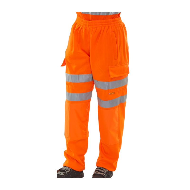 HI VIZ SWEAT JOG BOTTOM