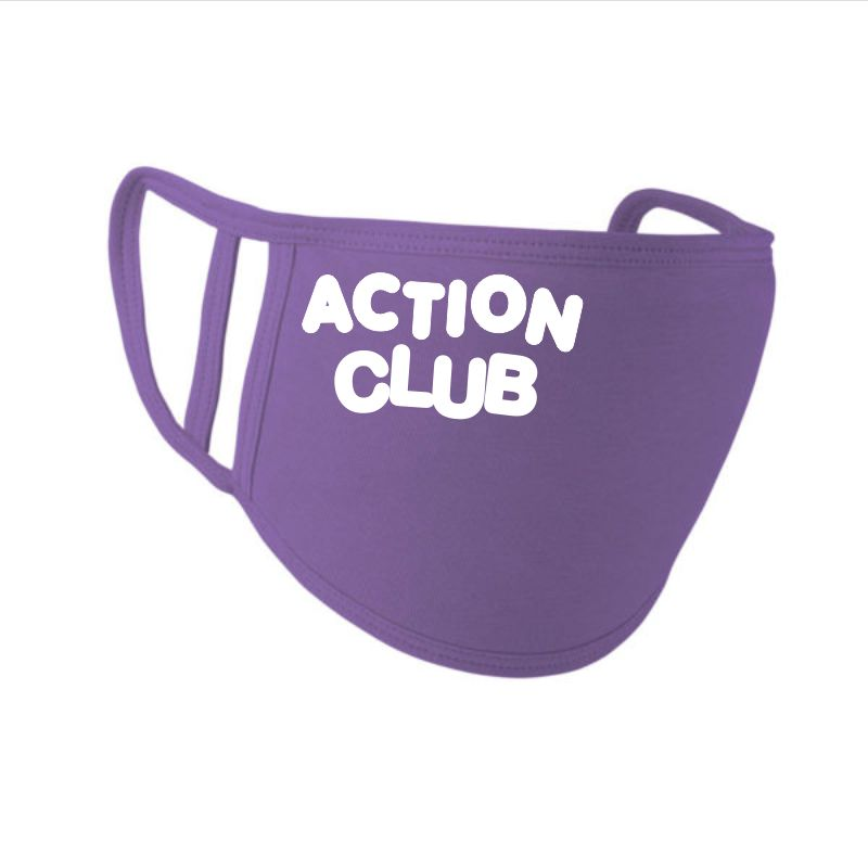 Action Club masks - 5 pack